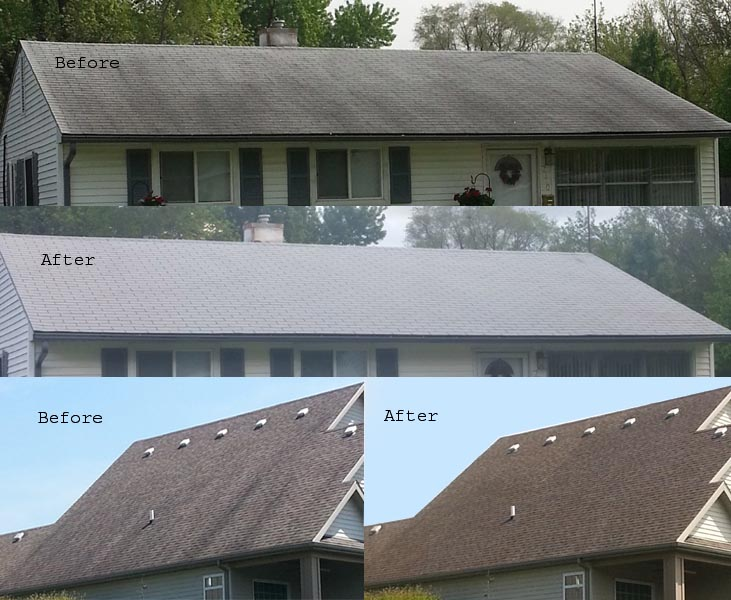 Roof cleaning aqua pro cleaning solutions - Reasons get roof cleaned ...