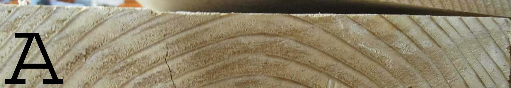 Flat sawn